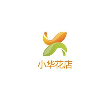 小华花店logo设计