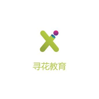 寻花教育logo设计