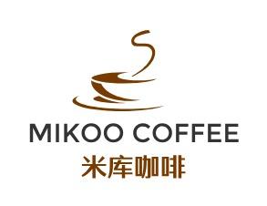 米库咖啡logo设计