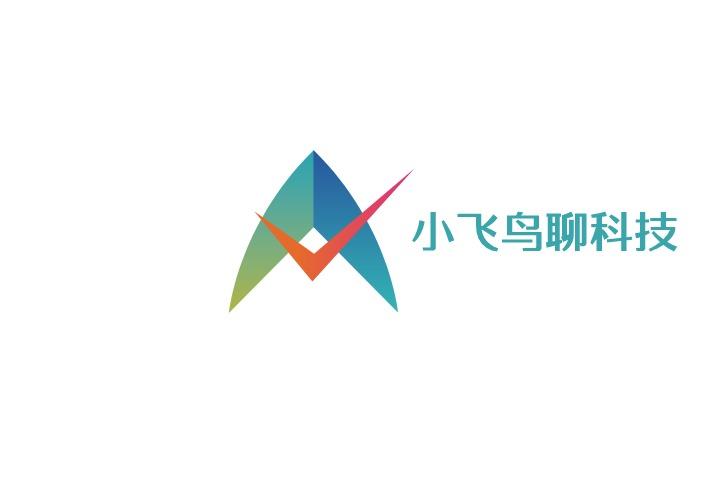 小飞鸟聊科技logo设计