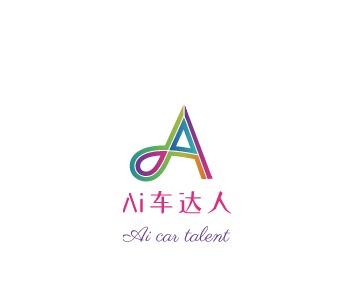 Ai车达人logo设计