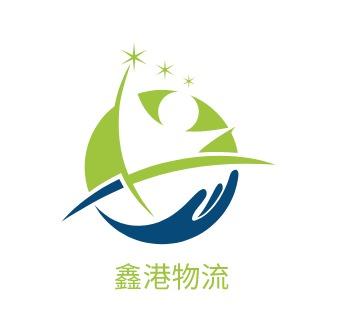 鑫港物流logo设计