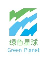 绿色星球logo设计
