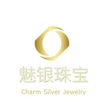 魅银珠宝logo设计