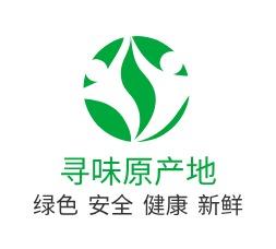 寻味原产地logo设计