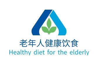 老年人健康饮食logo设计