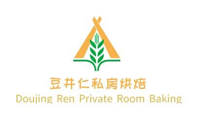 豆井仁私房烘焙logo设计