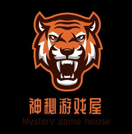 神秘游戏屋logo设计