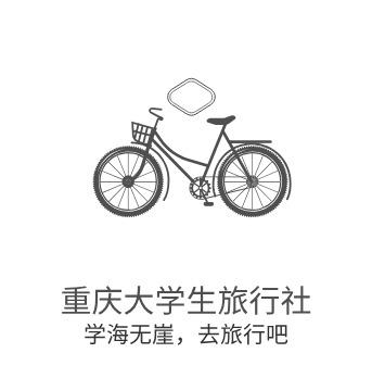 重庆大学生旅行社logo设计