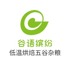 谷语缤纷logo设计