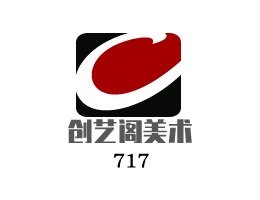 创艺阁美术工作室logo设计