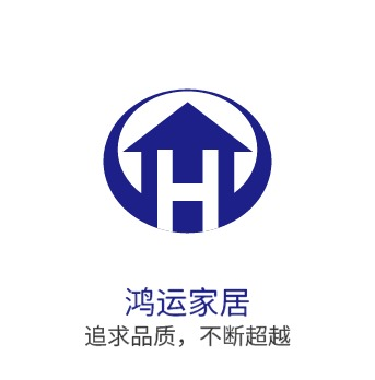鸿运家居logo设计