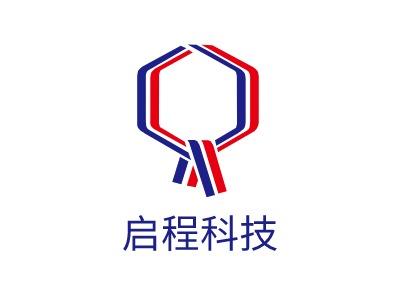 启程科技logo设计