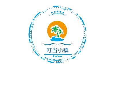 叮当小镇logo设计