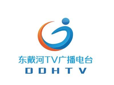 东戴河TV广播电台logo设计