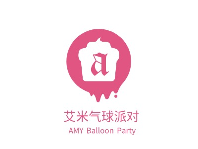 AMY Balloon Partylogo设计