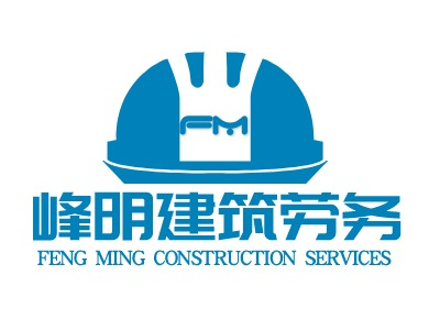 FENG MING CONSTRUCTION SERVICES企业标志设计