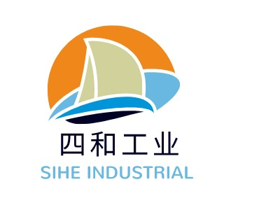 SIHE INDUSTRIAL企业标志设计