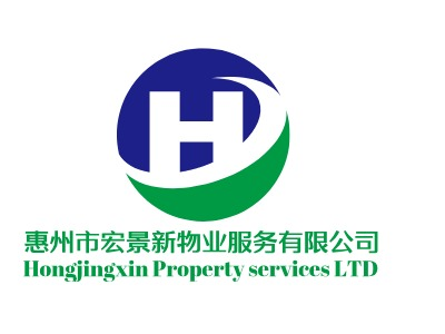 Hongjingxin Property services LTD企业标志设计